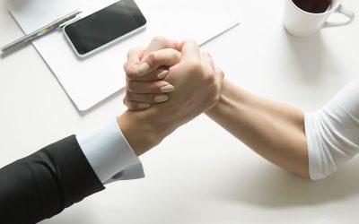Competencia y rivalidad entre compañeros de trabajo