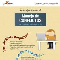 Preview de la infografía sobre manejo de conflictos laborales